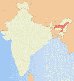 Assamese Map